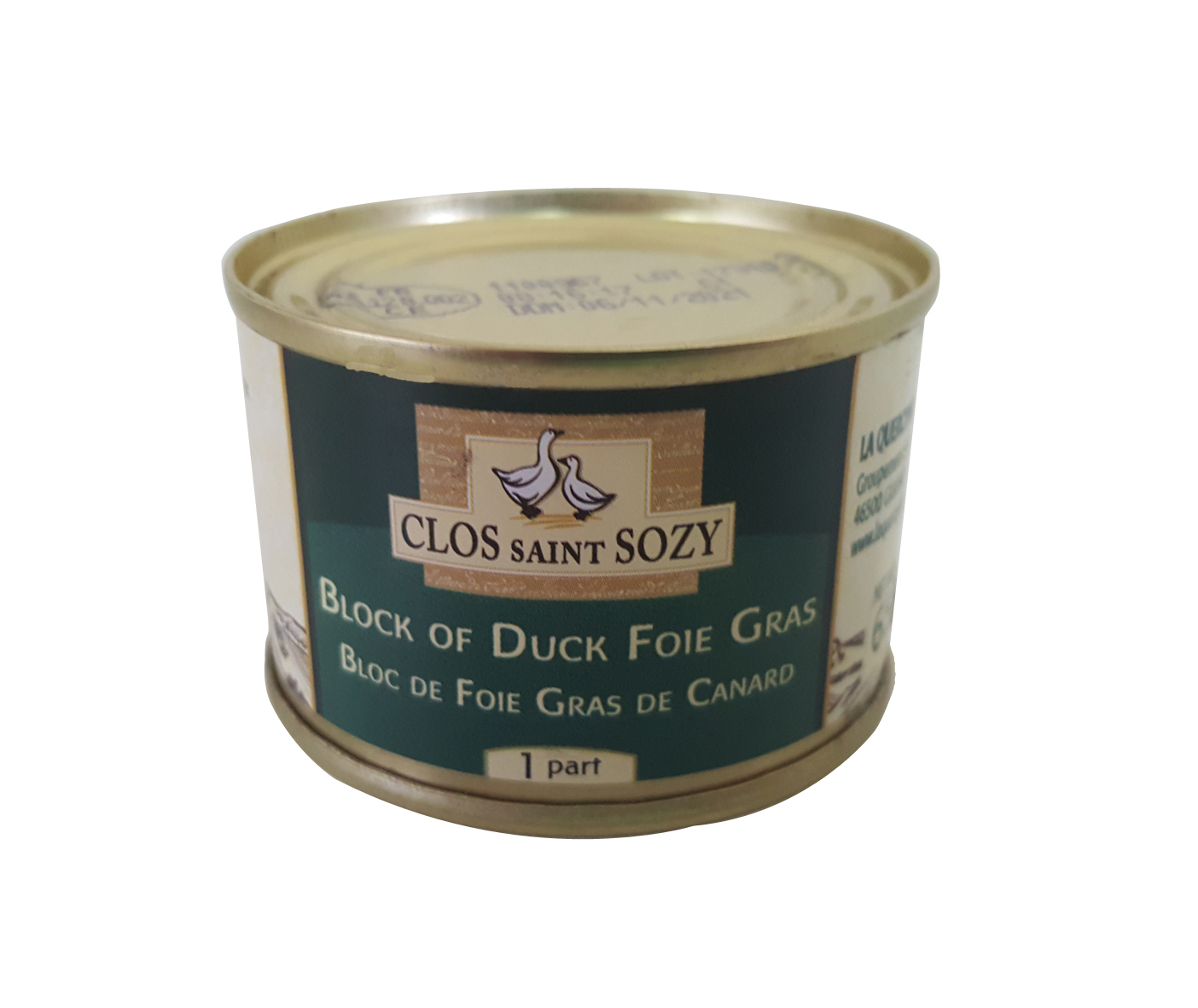 Block of Duck Foie Gras