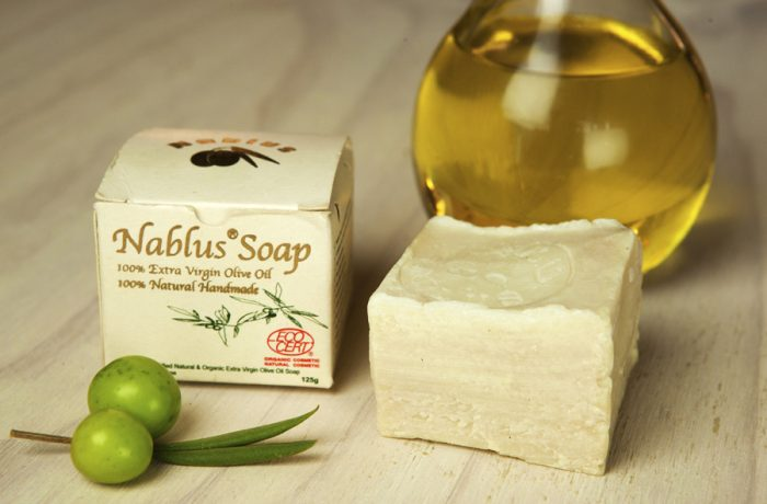 Traditional Nablus Natural Organic ECOCERT Certified Olive Oil Soap-Olive Oil (125 Gm)
