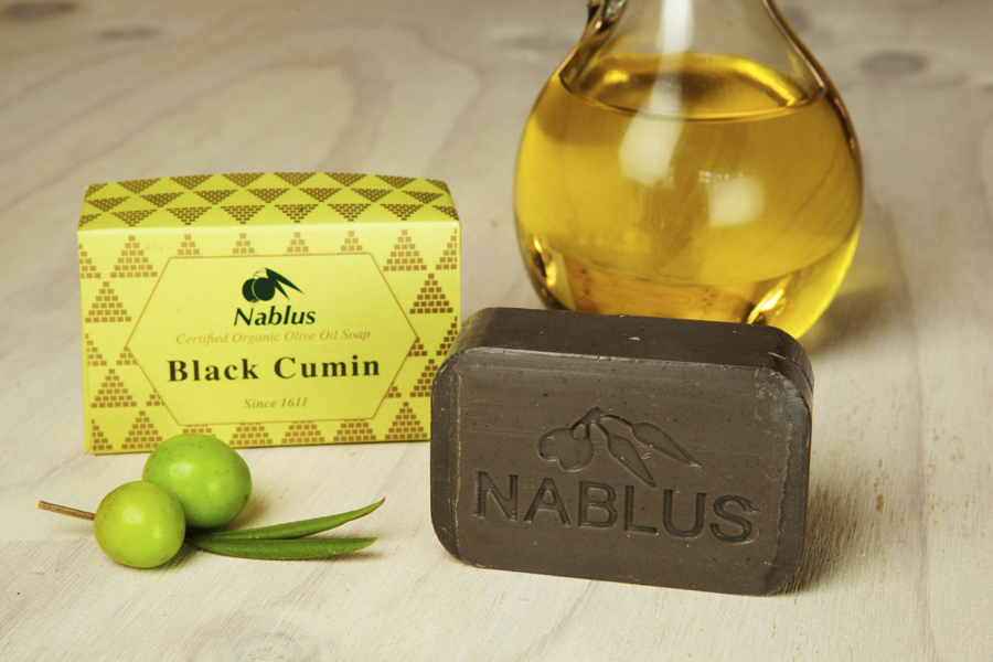 Certified Natural & Organic Olive Oil Nablus Soap Black Cumin_1