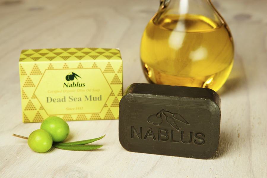 Certified Natural & Organic Olive Oil Nablus Soap Dead Sea Mud_1