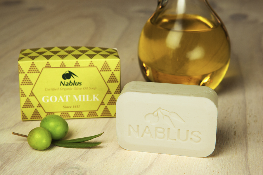 Certified Natural & Organic Olive Oil Nablus Soap Goat Milk_1