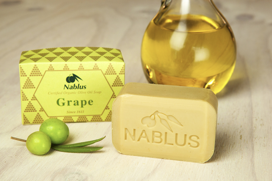Certified Natural & Organic Olive Oil Nablus Soap Grapes_1