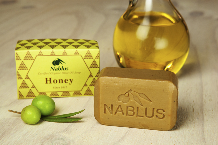 Certified Natural & Organic Olive Oil Nablus Soap Honey_1