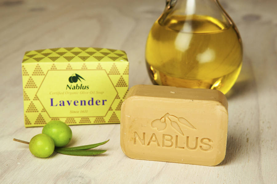 Certified Natural & Organic Olive Oil Nablus Soap Lavender_1