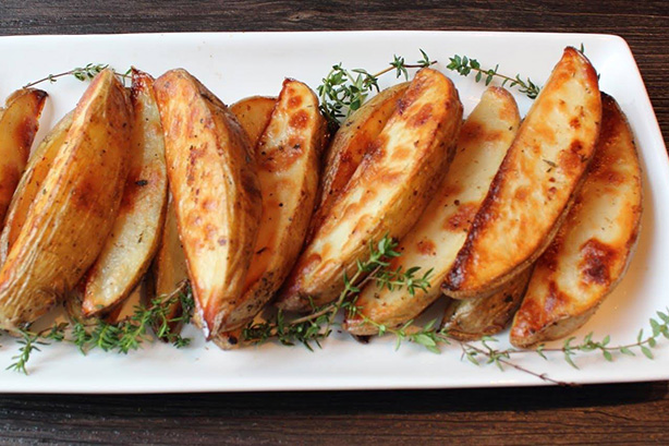 French fries cooked in Clos Saint Sozy Duck Fat
