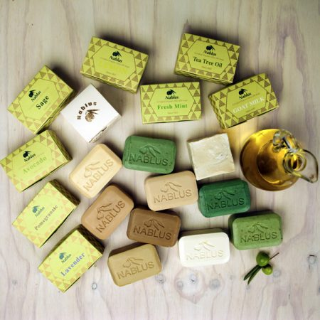 NABLUS NATURAL AND ORGANIC SOAP (FREE SHIPPING ON ORDERS OVER $30)